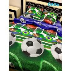 Комплект дитячої постільної білизни Футбол 2 бязь gold