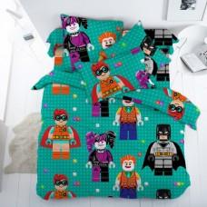 1 пог/м Ткань Лего бэтмен бязь люкс 150 см