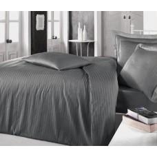 Комплект постельного белья страйп сатин 004